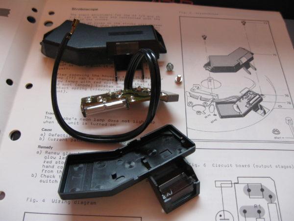 Genialny stroboscope for dual 1228 233228 | Dual turntable parts PG49